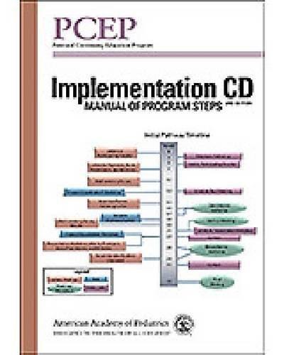 9781581107159: PCEP Implementation CD: Manual of Program Steps (Perinatal Continuing Education Program)