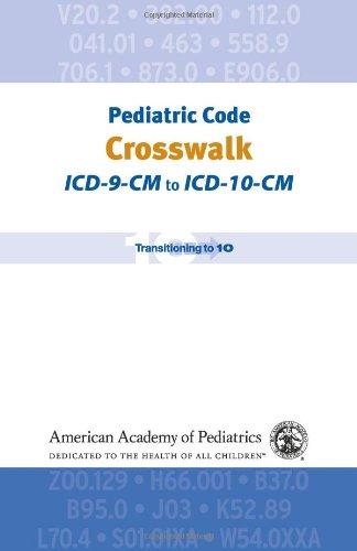Pediatric Code Crosswalk: ICD-9-CM to ICD-10-CM (Coding): Jeffrey F. Linzer MD FAAP