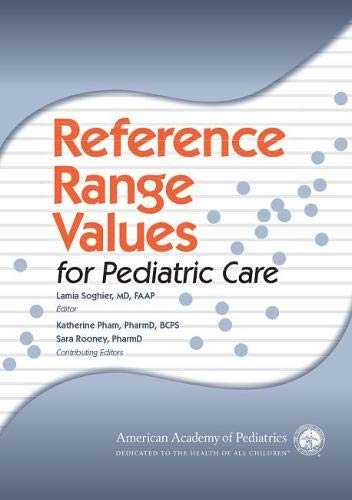 9781581108491: Reference Range Values for Pediatric Care