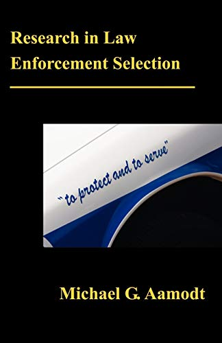 9781581124286: Research in Law Enforcement Selection