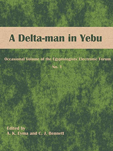 A Delta Man in Yebu