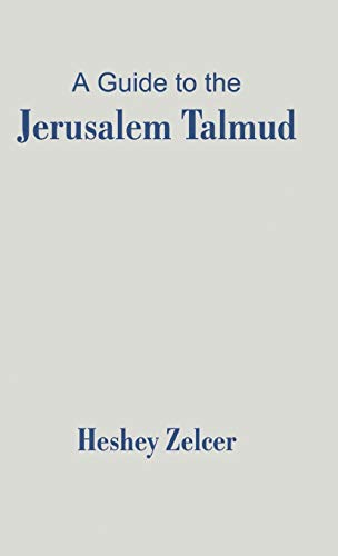 9781581126303: A Guide to the Jerusalem Talmud