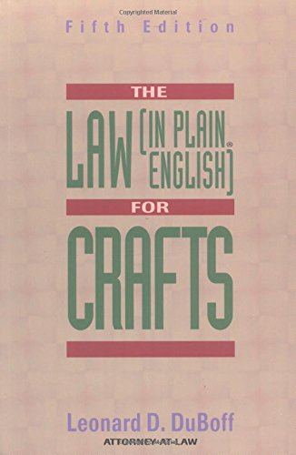 9781581150162: The Law (in Plain English) for Crafts