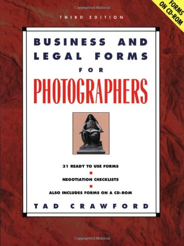 9781581152067: Business and Legal Forms for Photographers (Business & Legal Forms for Photographers)