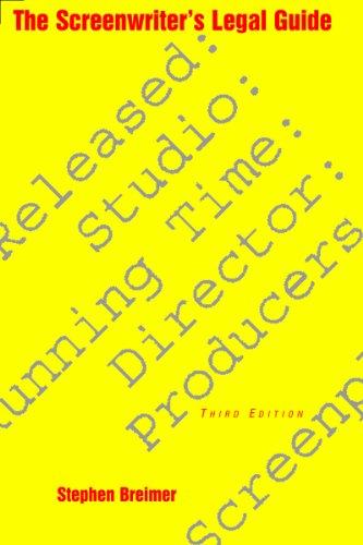 9781581153521: The Screenwriter's Legal Guide