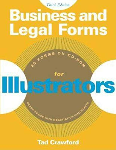 9781581153644: Business and Legal Forms for Illustrators (Business and Legal Forms Series)
