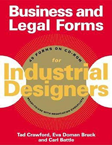 9781581153989: Business and Legal Forms for Industrial Designers