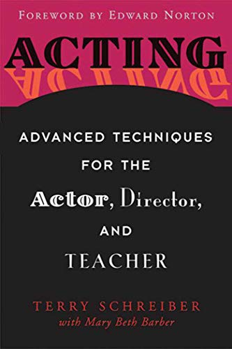 9781581154184: Acting: Advanced Techniques for the Actor, Director, and Teacher