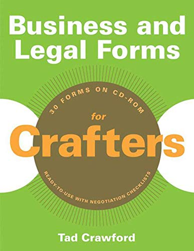 Business and Legal Forms for Crafters: Crawford, Tad