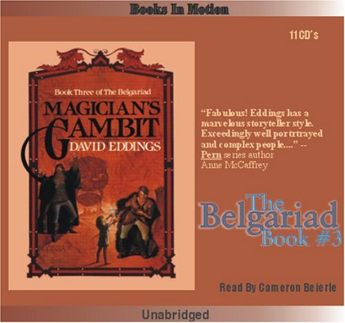Magician's Gambit by David Eddings, (The Belgariad Series, Book 3) from Books In Motion.com: ...