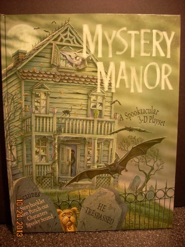9781581171082: Mystery Manor: A Spooktacular 3-D Playset