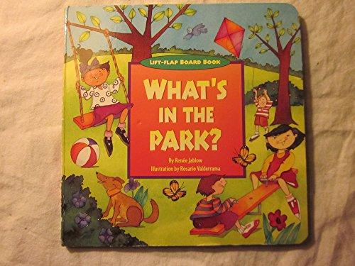 9781581171327: What's in the Park? (Sneak-A-Peek)