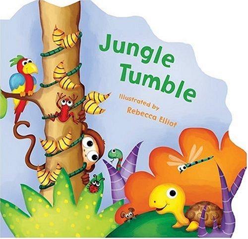 9781581174489: Jungle Tumble: A Slide And Seek Book