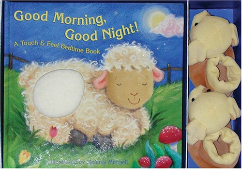 9781581174618: Good Morning, Good Night!: ATouch & Feel Bedtime Book
