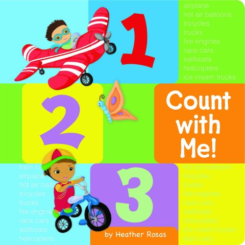 1-2-3 Count With Me!: Heather Rosas