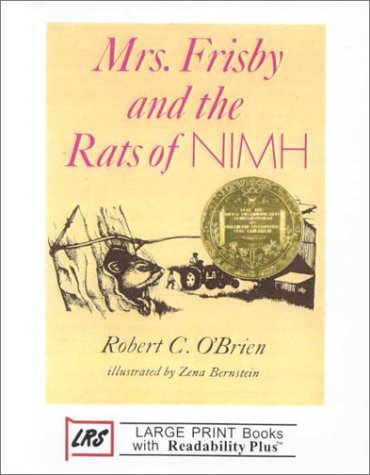 9781581180565: Mrs. Frisby and the Rats of Nimh (Large Print Cornerstone Ser)