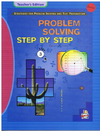 Metro Problem Solving Step By Step, Teacher's: Jack Beers