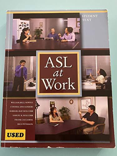 9781581210811: ASL AT WORK