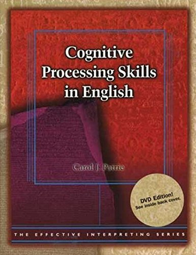 Effective Interpreting Series - Cognitive Processing Skills in English Study Set