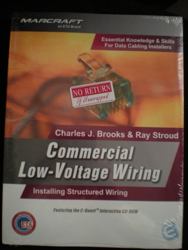 9781581220858: Commercial Low-Voltage Wiring (MARCRAFT an ETC Brand)