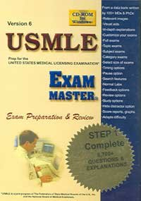 9781581290868: Usmle By Exam Master Step 1, Version 6: Complete: (cd-rom For Windows, Individual User)