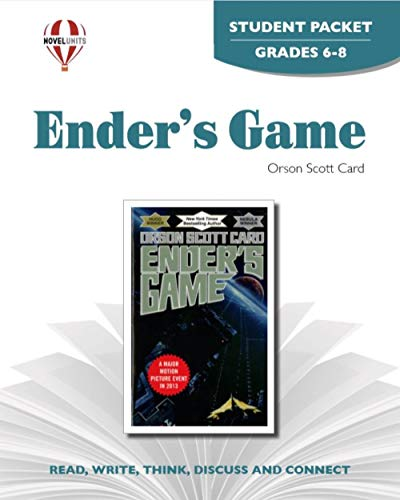9781581305128: Ender's Game - Student Packet by Novel Units, Inc.