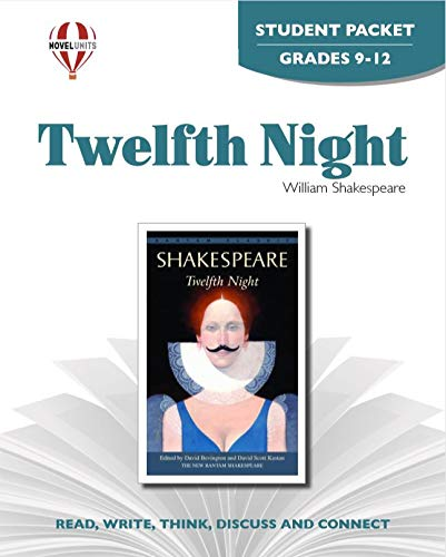 9781581305876: Twelfth Night - Student Packet by Novel Units