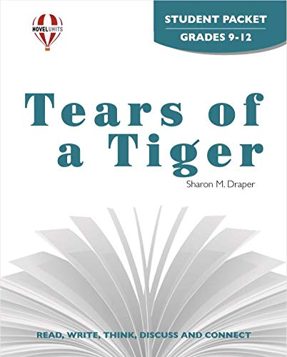 9781581306712: Tears Of A Tiger - Student Packet by Novel Units