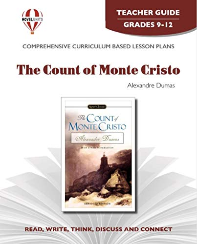 9781581307122: Count of Monte Cristo - Teacher Guide by Novel Units