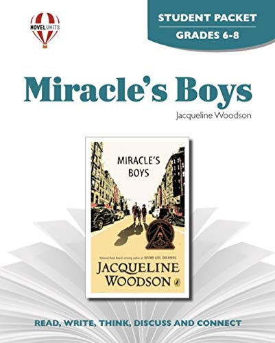 9781581307214: Miracle's Boys - Student Packet by Novel Units, Inc.