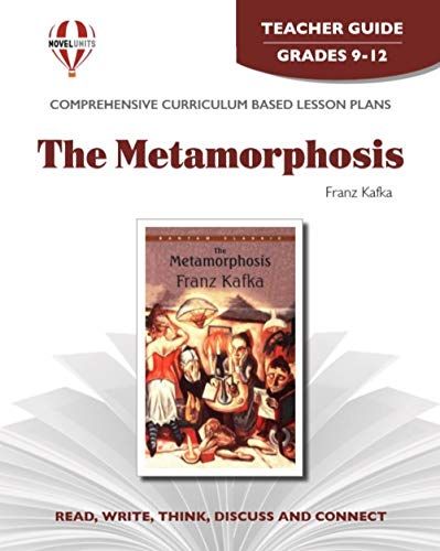 9781581307443: Metamorphosis - Teacher Guide by Novel Units, Inc.