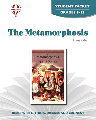 9781581307450: Metamorphosis - Student Packet by Novel Units, Inc.