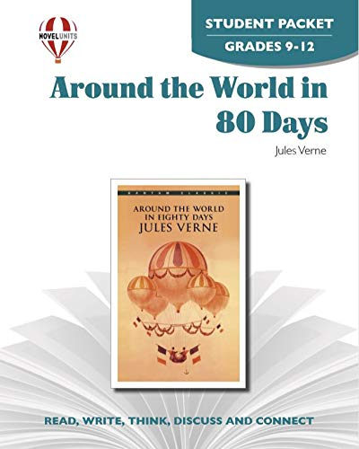 9781581307818: Around the World In Eighty Days - Student Packet by Novel Units