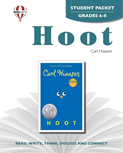 9781581308112: Hoot - Student Packet by Novel Units, Inc.