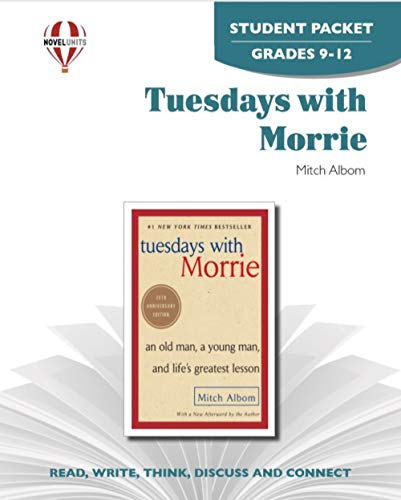 9781581308464: Tuesdays with Morrie - Student Packet by Novel Units