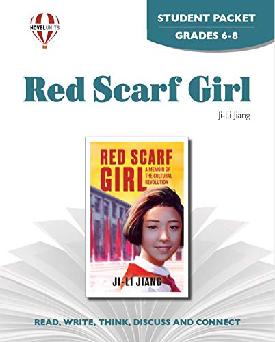 9781581308624: Red Scarf Girl - Student Packet by Novel Units, Inc.
