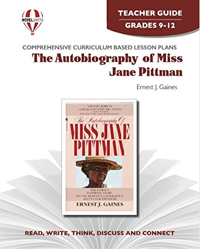9781581309584: Autobiography Of Miss Jane Pittman - Teachers Guide by Novel Units, Inc.