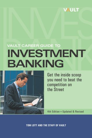 9781581311334: Vault Career Guide to Investment Banking