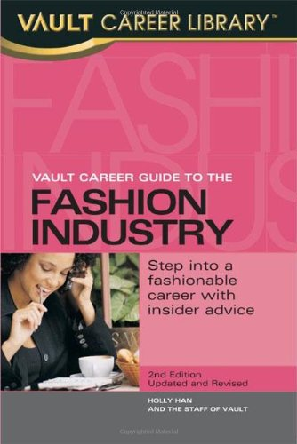 9781581312010: Vault Career Guide to the Fashion Industry