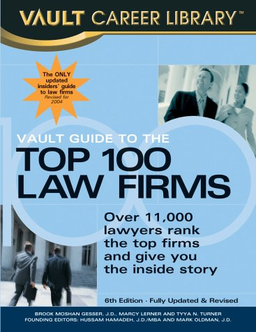 Vault Guide to the Top 100 Law: Brook Moshan; Marcy