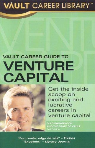 9781581312904: Vault Career Guide to Venture Capital