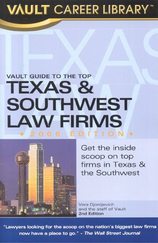 Vault Guide to the Top Texas & Southwest Law Firms: Gesser, Brook