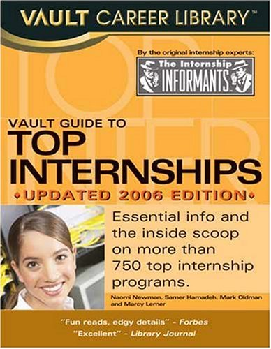 Vault Guide to Top Internships: Hamadeh, Samer