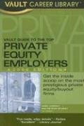 9781581314359: Vault Guide to the Top Private Equity Employers