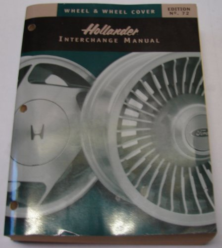 Wheel & Wheel Cover Hollander Interchange Manual,