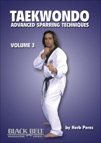 9781581333053: Taekwondo, Advanced Sparring Techniques, Vol. 3: Advanced Sparring Techniques: Volume 3: v. 3