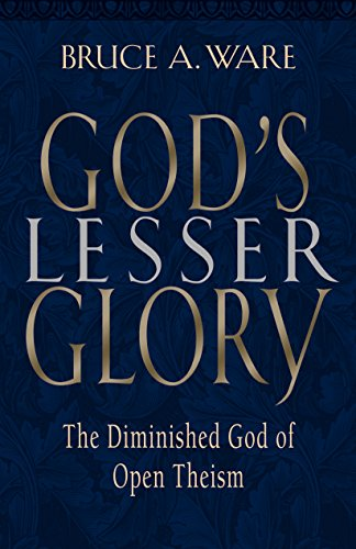 9781581342291: God's Lesser Glory: The Diminished God of Open Theism