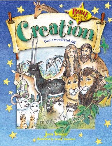 9781581342925: Creation: God's Wonderful Gift (The Bible Adventure Club)