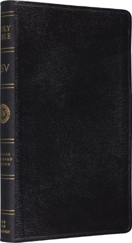 ESV Classic Reference Bible, Genuine Leather, Black,: Crossway