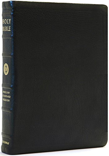 9781581343502: The Holy Bible: English Standard Version (Heirloom Reference Edition, Black Premium Calfskin)